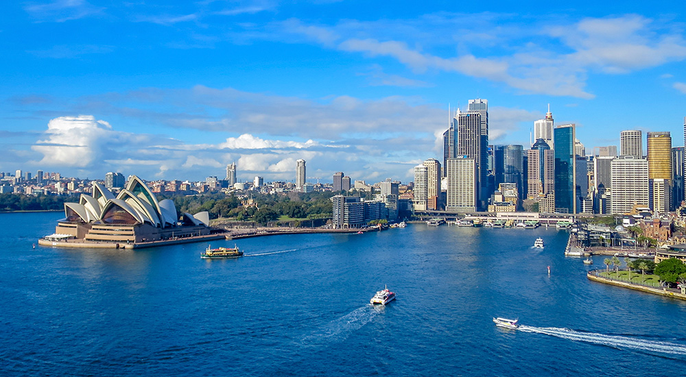 Sydney Harbour cruise lunch