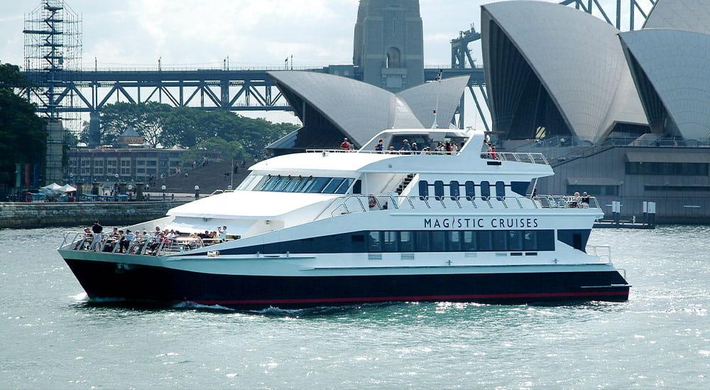 Sydney lunch cruises