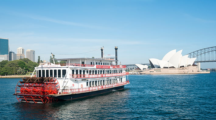 Valentine's Day Showboat Jazz Lunch cruise with drinks