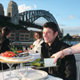 Sydney harbour Lunch buffet